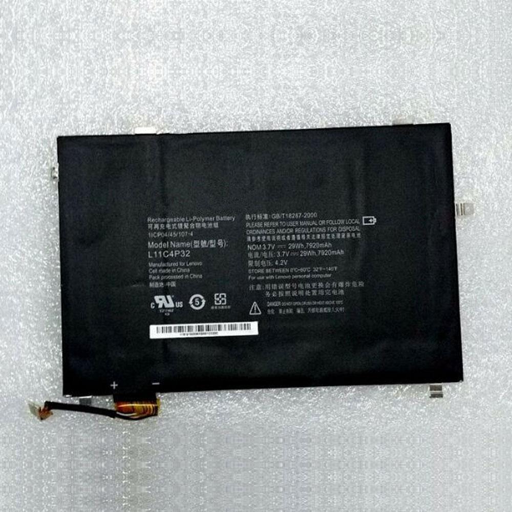 3.7V Lenovo L11C4P32 Akkus