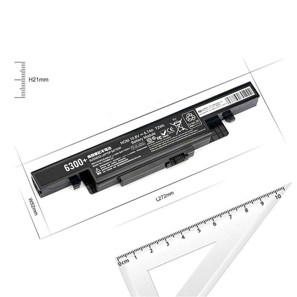 6700mAh/72Wh 10.8V laptop akkus