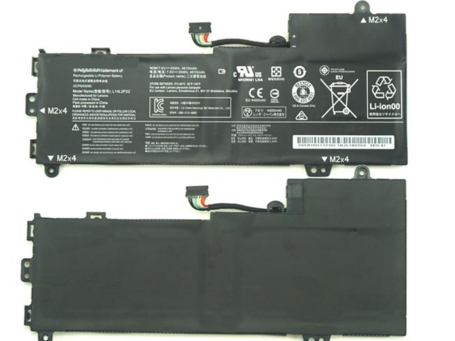 7.6V Lenovo L14L2P22 Akkus