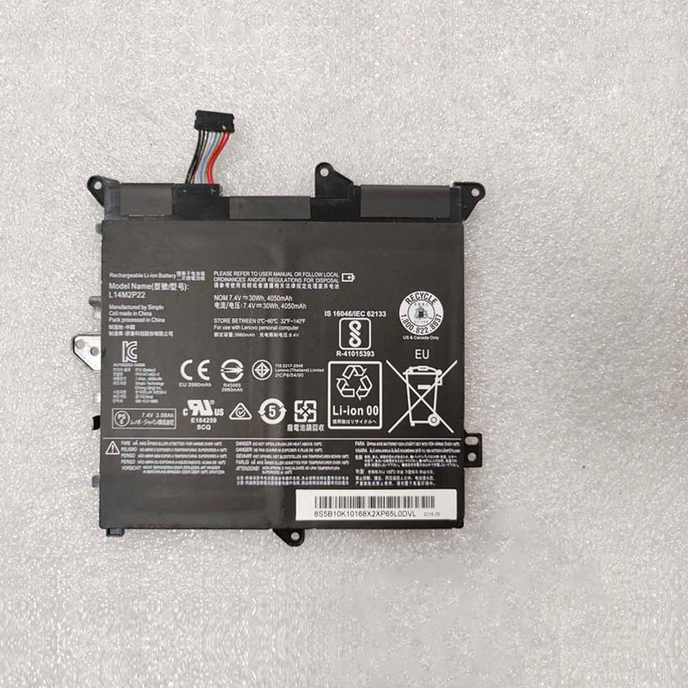 7.4V Lenovo L14S2P21 Akkus