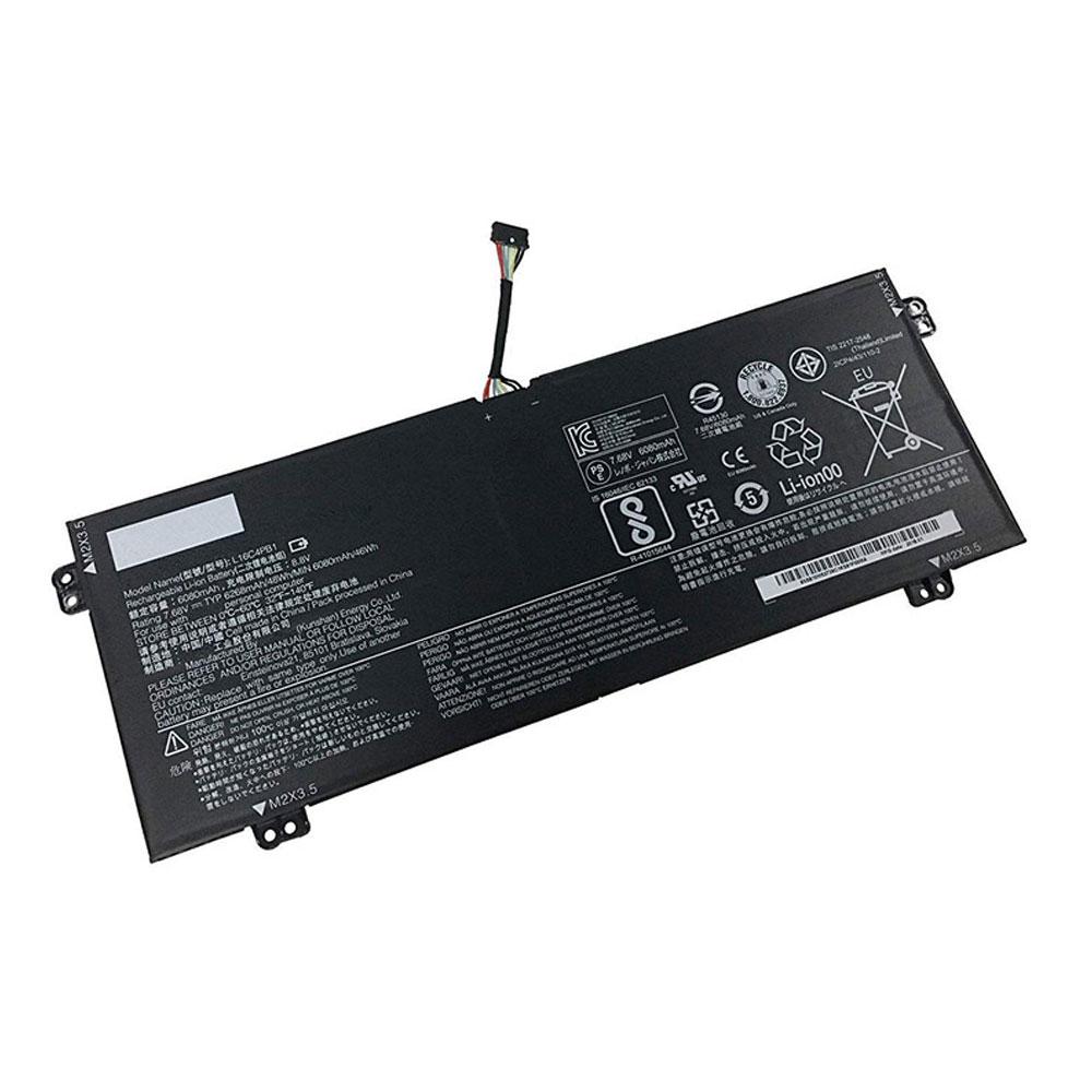 7.68V Lenovo L16C4PB1 Akkus