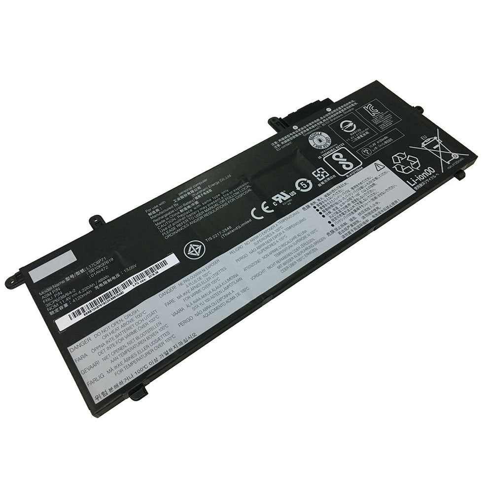 11.4V/13.05V Lenovo L17C6P71 Akkus