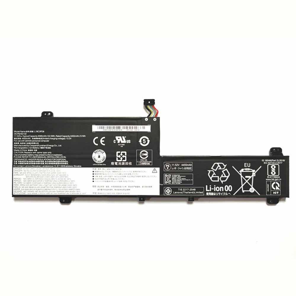 11.52V/13.2V Lenovo L19C3PD6 Akkus