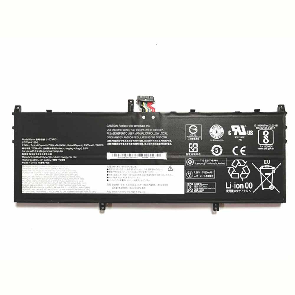 15.2V/17.4V Lenovo L19D4PD1 Akkus