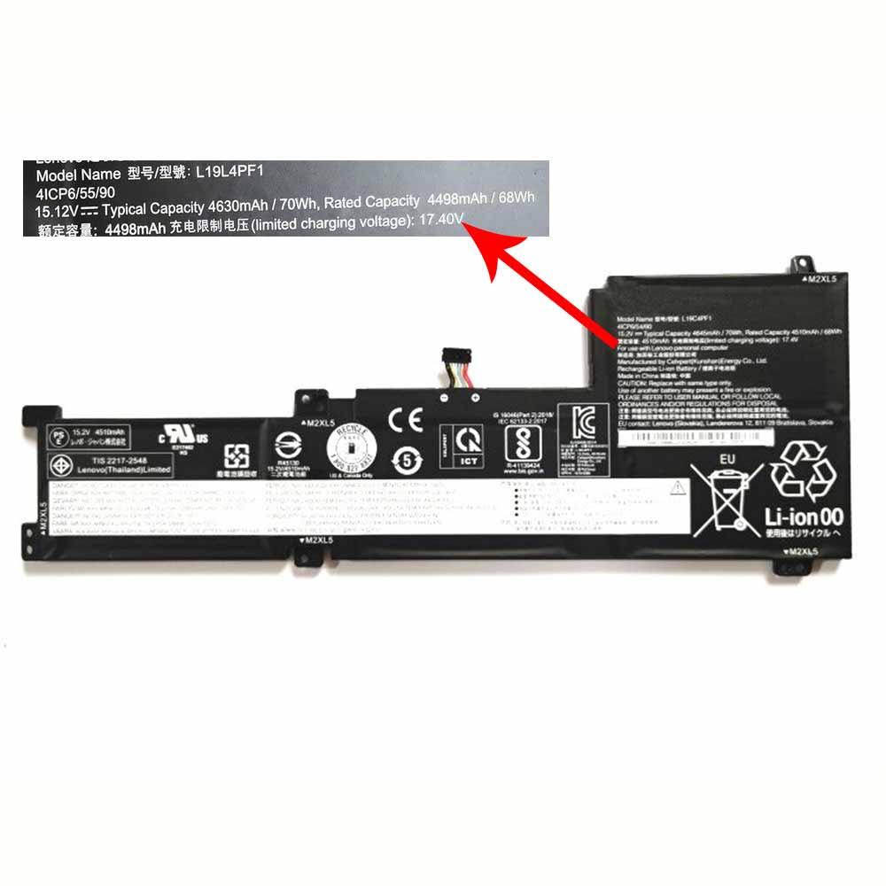 15.2V/17.4V Lenovo L19C4PF1 Akku