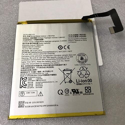 3.86V/4.43V Lenovo L19D1P32 Akkus