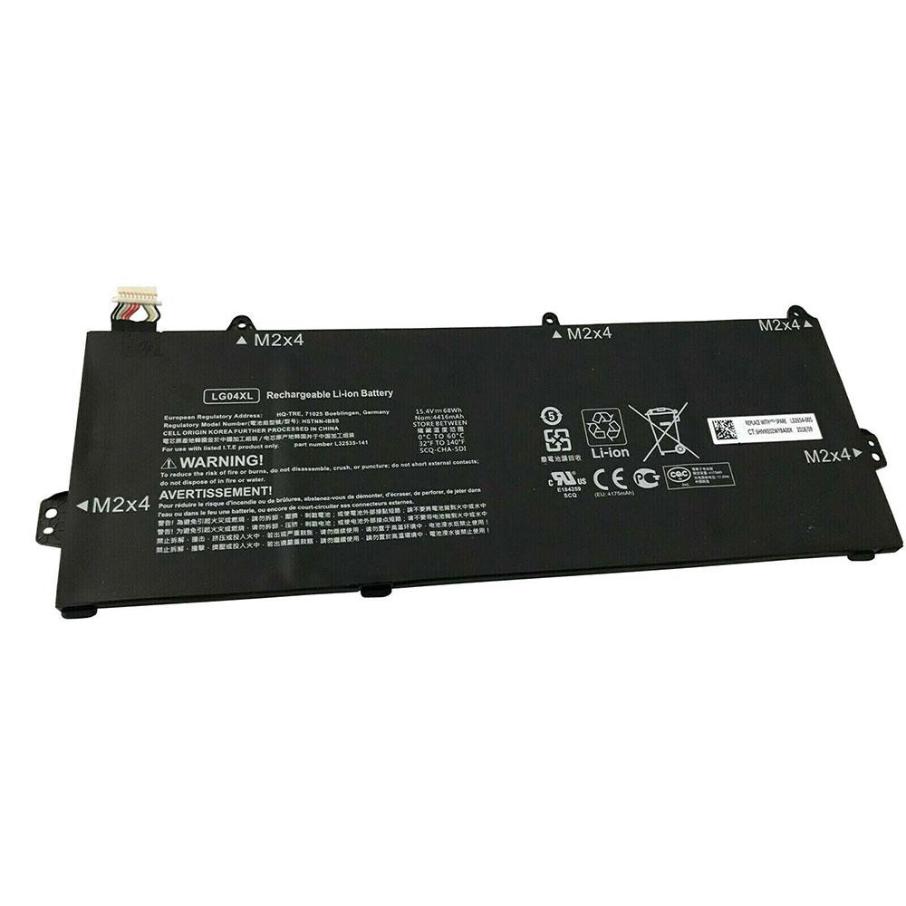15.4V HP LG04XL Akku