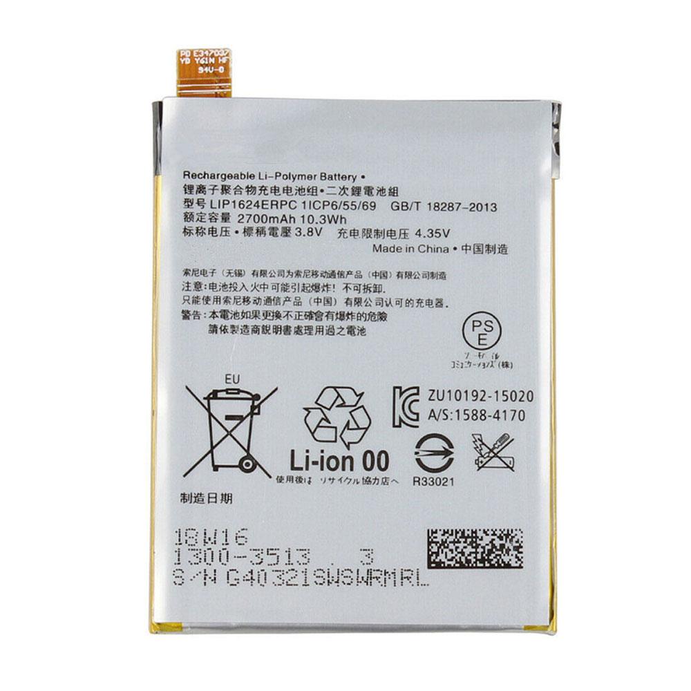 3.8V/4.35V Sony LIP1624ERPC Akku