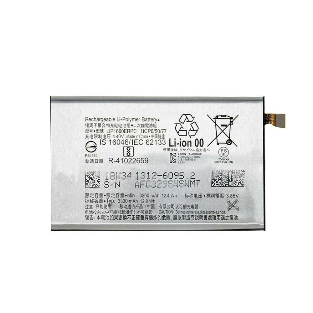 3.85V/4.4V Sony LIP1660ERPC Akku