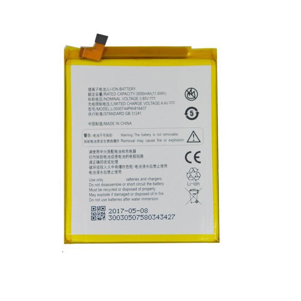 3.85V/4.4V ZTE Li3930T44P6h816437 Akkus