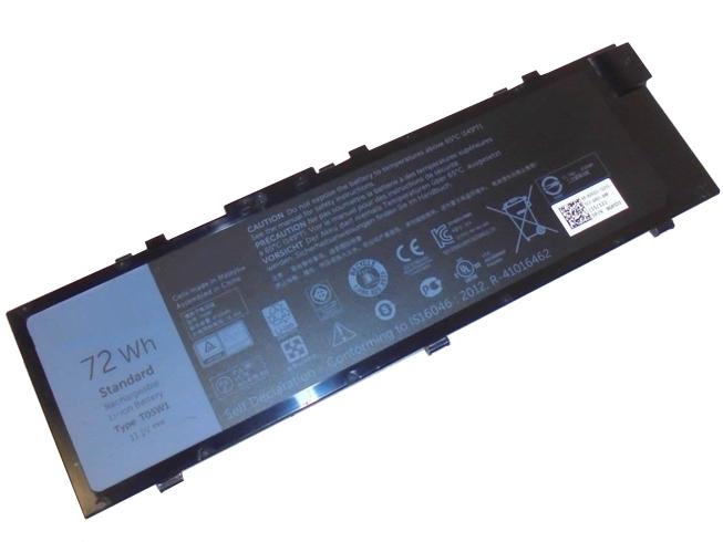 11.1V Dell T05W1 Akkus