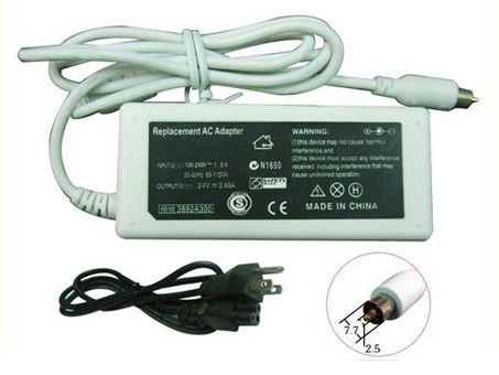 24V , 2.65A apple Laptop AC Adapter