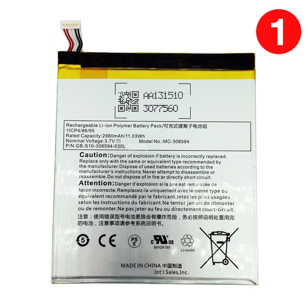 3.7V Amazon MC-308594 Akkus