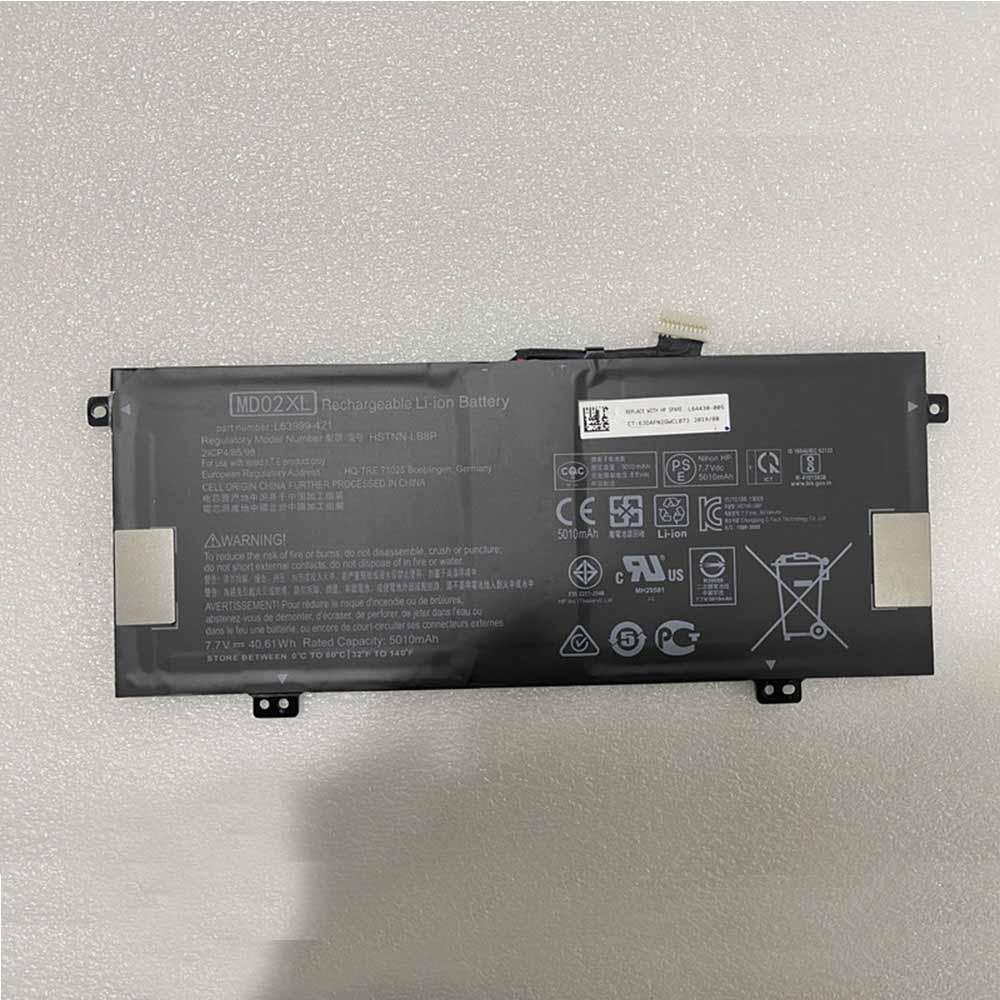 7.7V/8.8V HP MD02XL Akku
