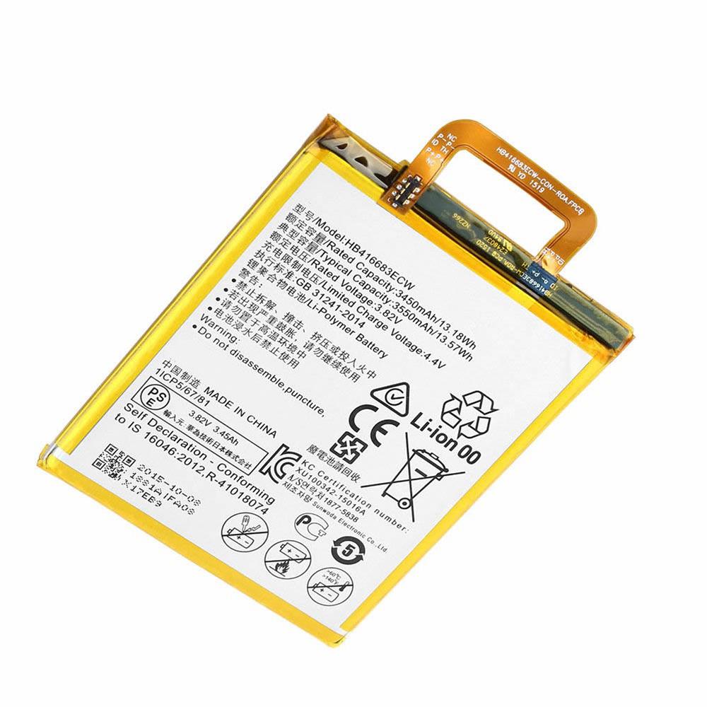 3.82V Huawei HB416683ECW Akkus