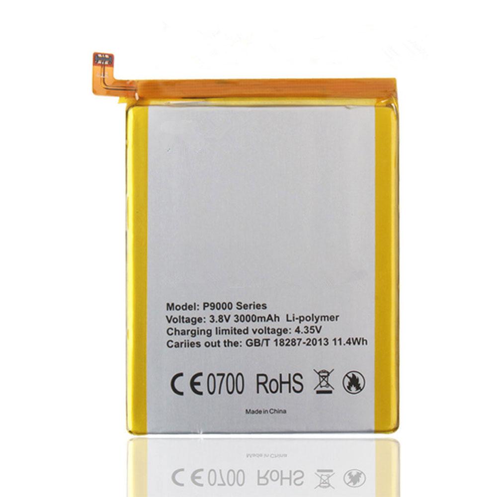 P9000 4165mAh/15.8WH 3.8V laptop akkus