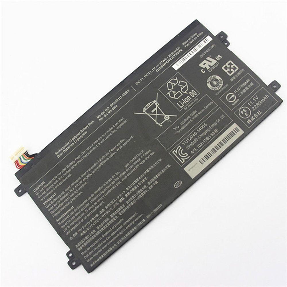 11.1V Toshiba PA5191U-1BRS Akkus