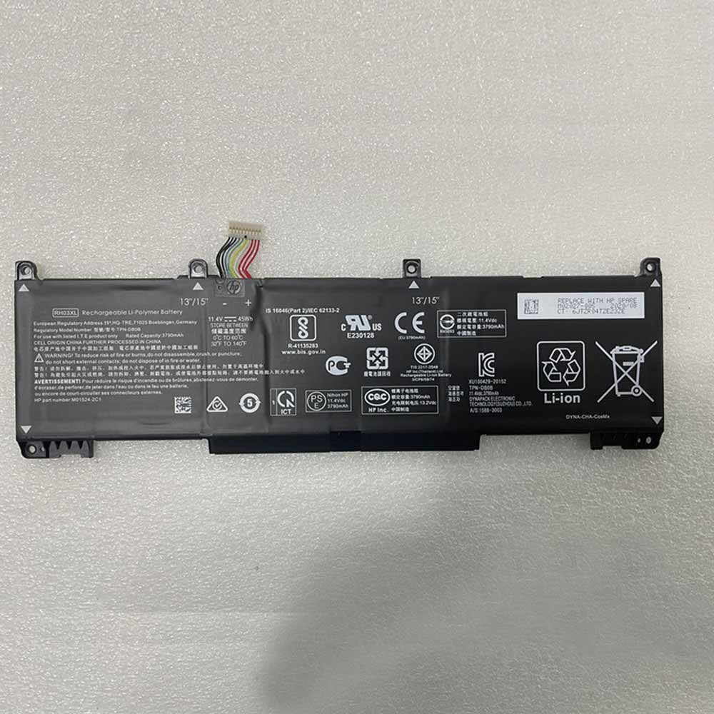 11.4V/13.2V HP RH03XL Akku