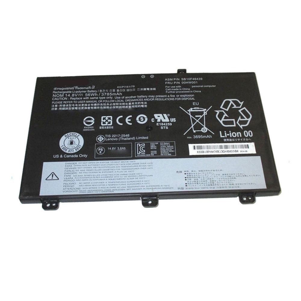 14.8V Lenovo SB10F46439 Akkus