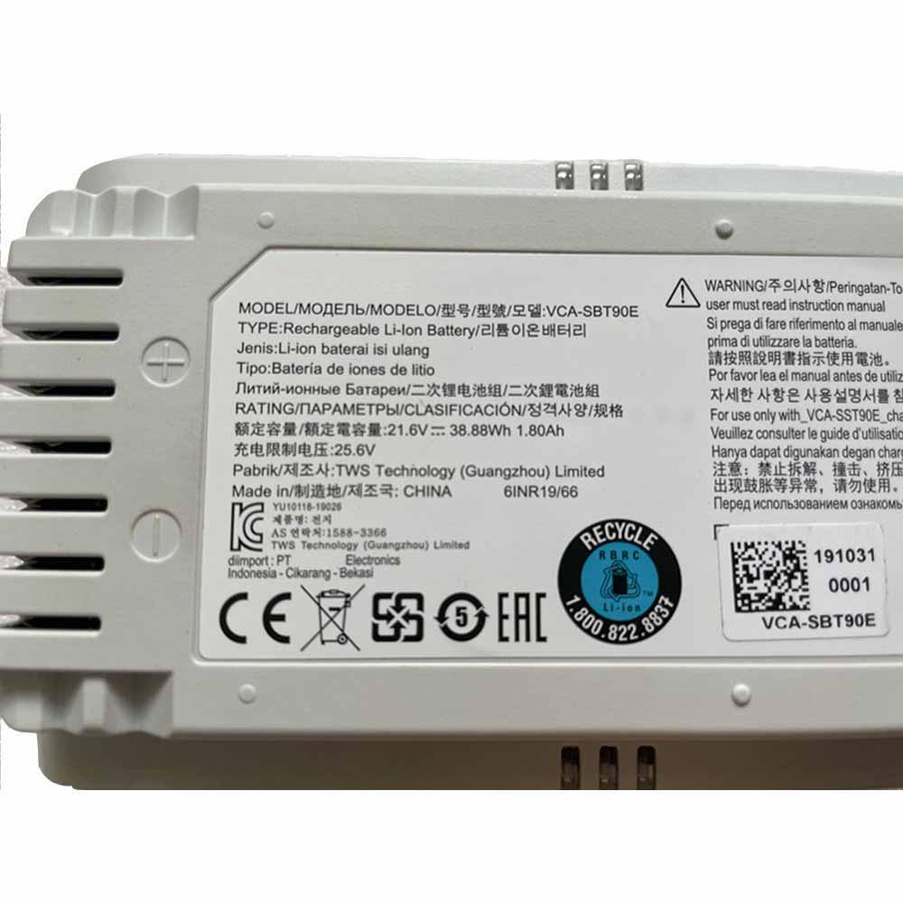 VCA-SBT90E akku