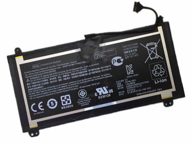 7.4V HP HSTNN-DB6H Akkus