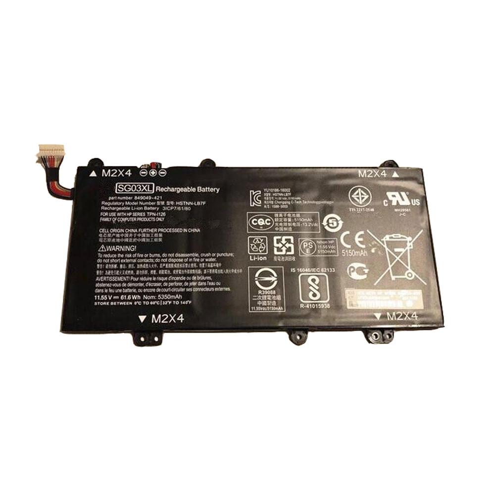 11.55V HP SG03XL Akkus
