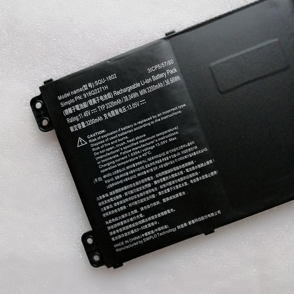 SQU-1602laptop akku