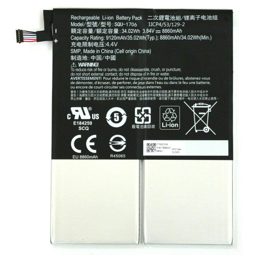 3.84V/4.4V Acer SQU-1706 Akkus