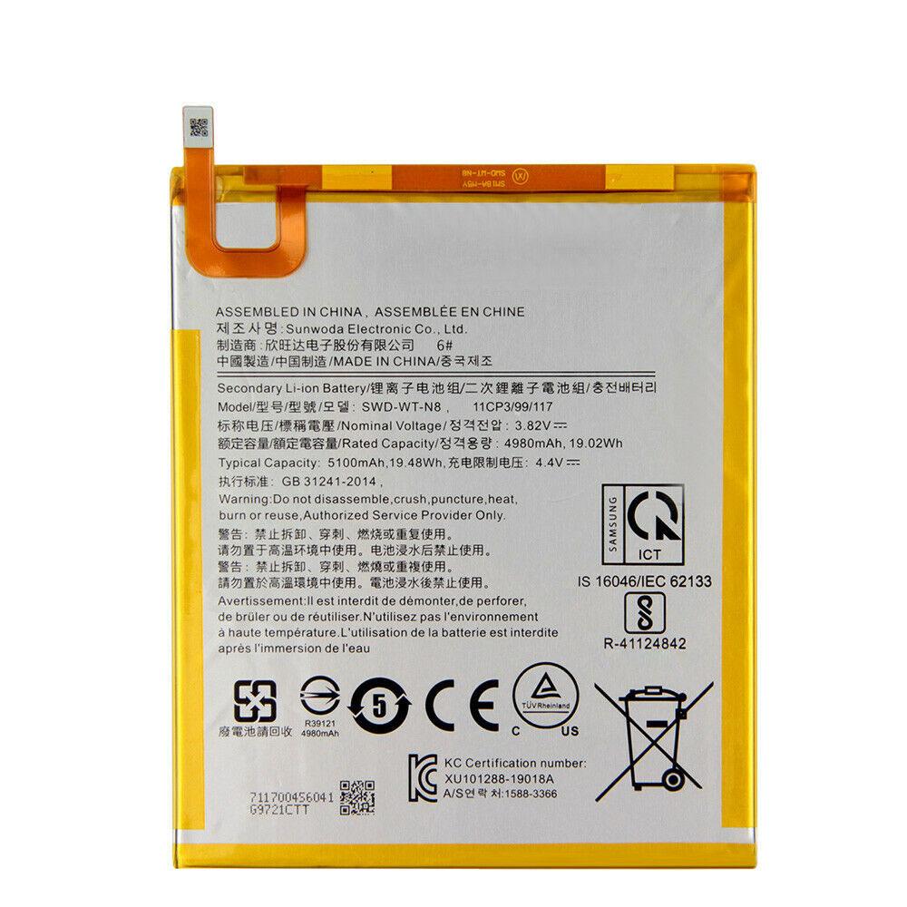 3.82V/4.4V Samsung SWD-WT-N8 Akku
