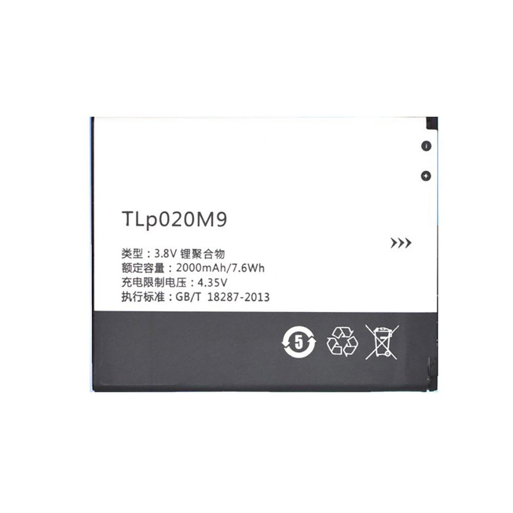 3.8V/4.35V Alcatel TLP020M7 Akkus