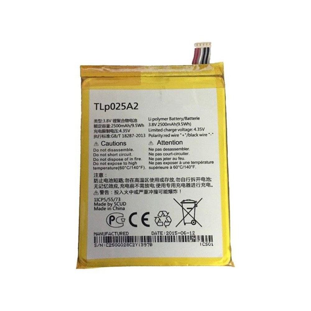 3.8V/4.35V Alcatel TLp025A2 Akkus