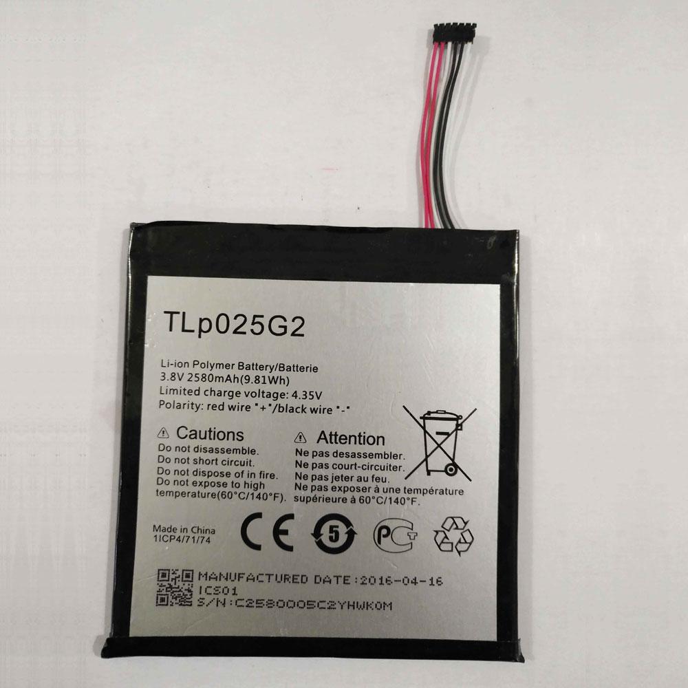 3.8V/4.35V Alcatel TLp025G2 Akkus