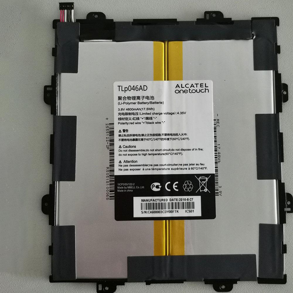 3.8V/4.3V Alcatel TLP046AD Akkus