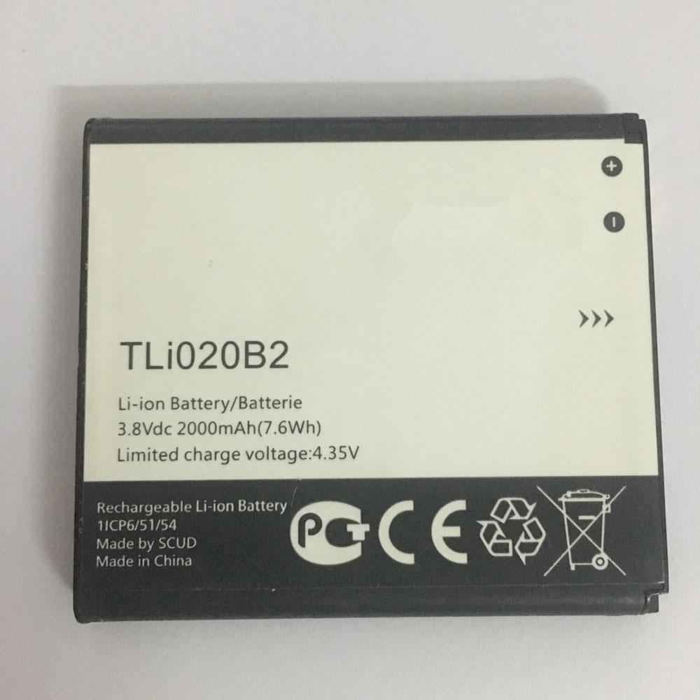 3.8V/4.35V Alcatel TLi020B2 Akkus