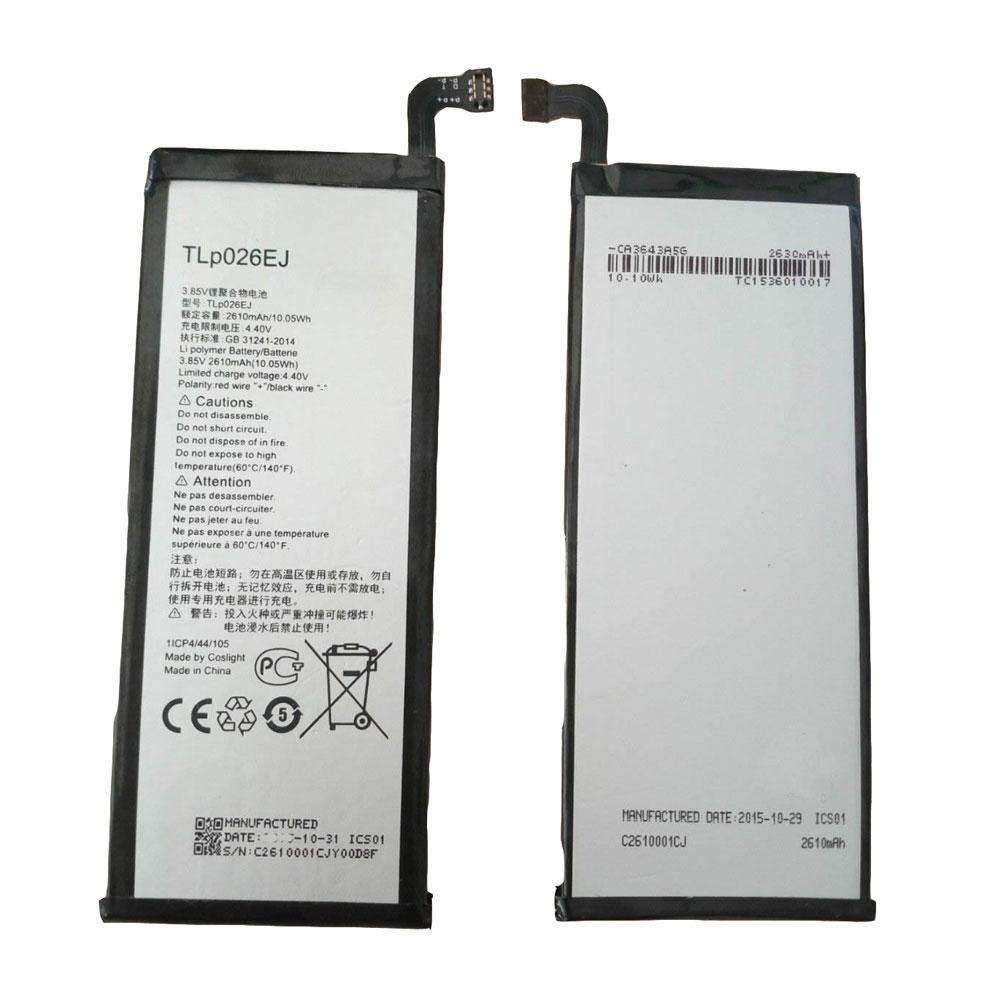 3.85V/4.4V Alcatel TLp026EJ Akkus
