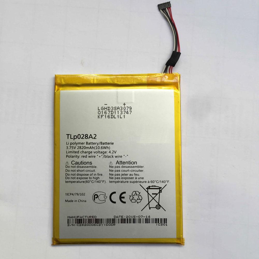 3.75V/4.2V Alcatel TLp028AD Akkus