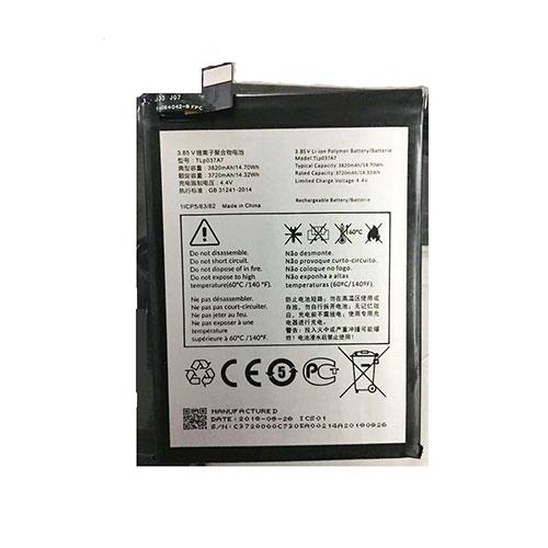 3.85V/4.4V Alcatel TLp037A7 Akkus