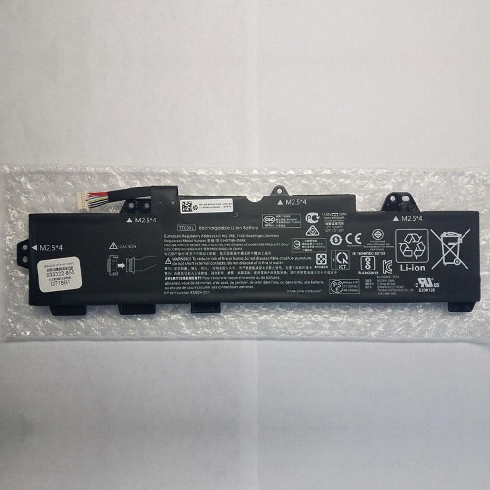 11.55V HP TT03XL Akkus