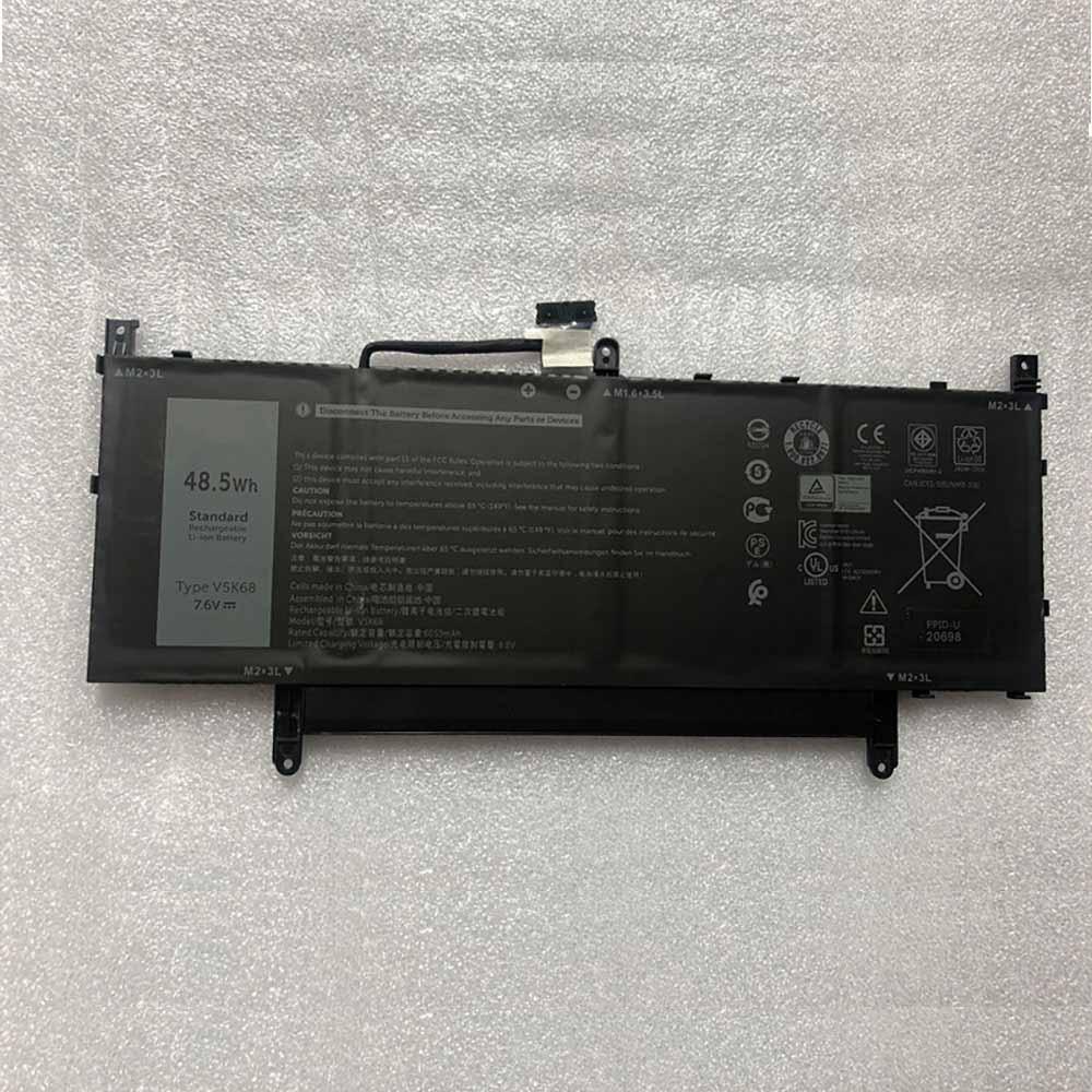 7.6V/8.9V Dell V5K68 Akku