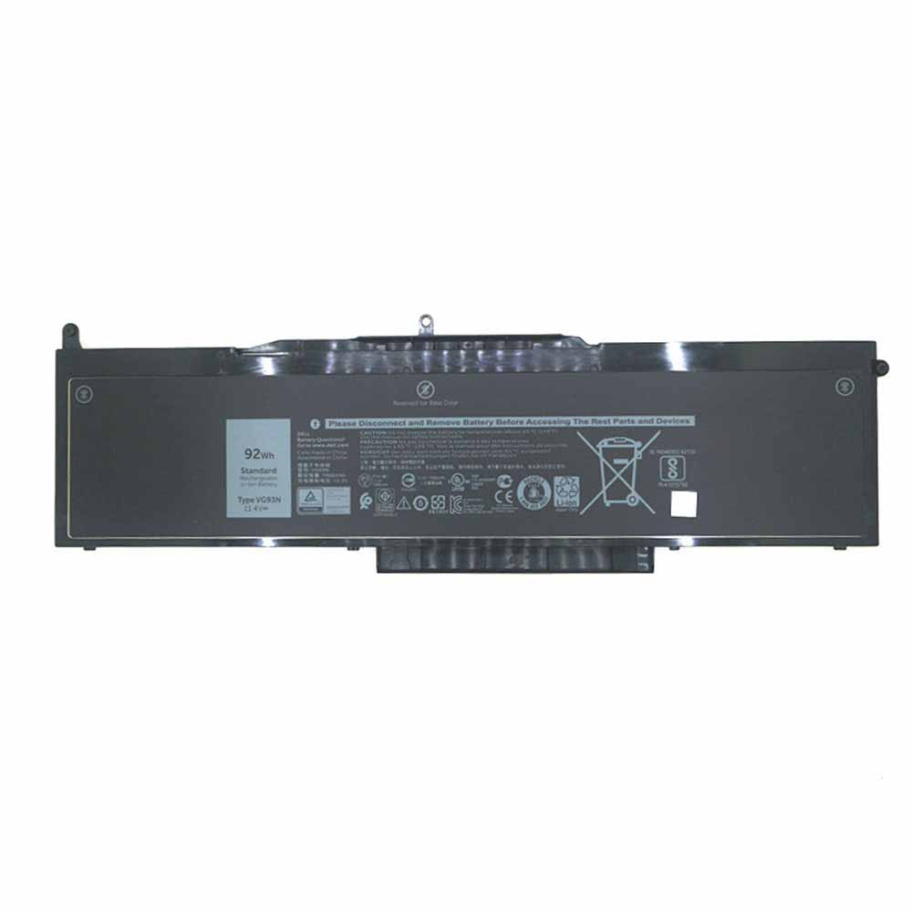 11.4V Dell VG93N Akkus