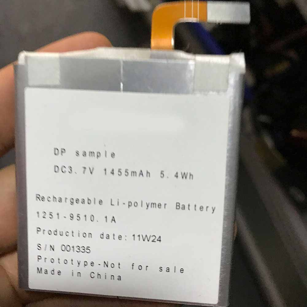 3.7V/4.2V Sony 11W24 Akku