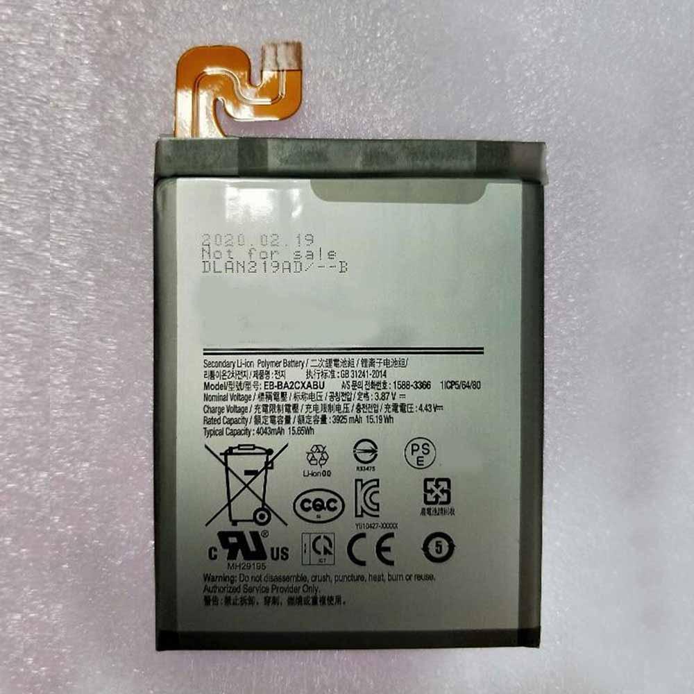3.87V/4.43V Samsung EB-BA2CXABU Akku