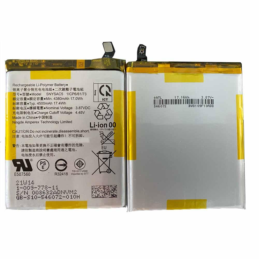 3.87V/4.45V Sony SNYSAC5 Akku