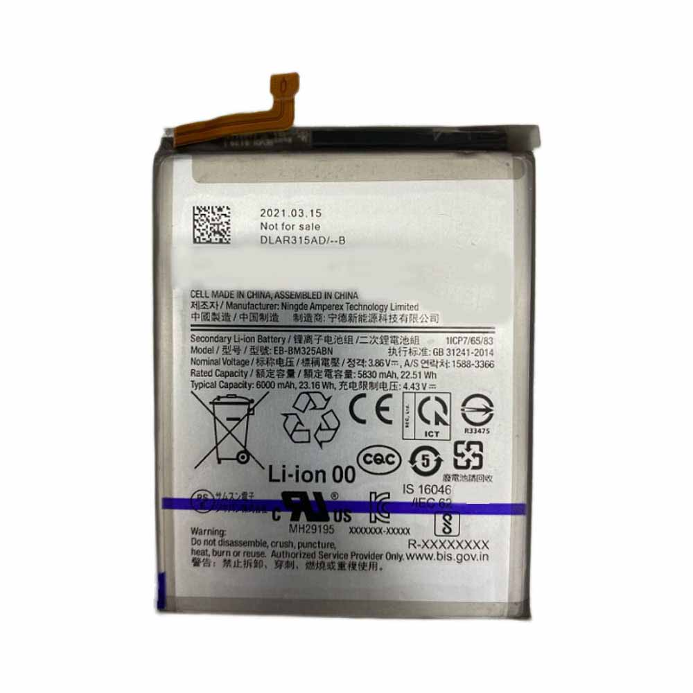 3.86V/4.43V Samsung EB-BM325ABN Akku