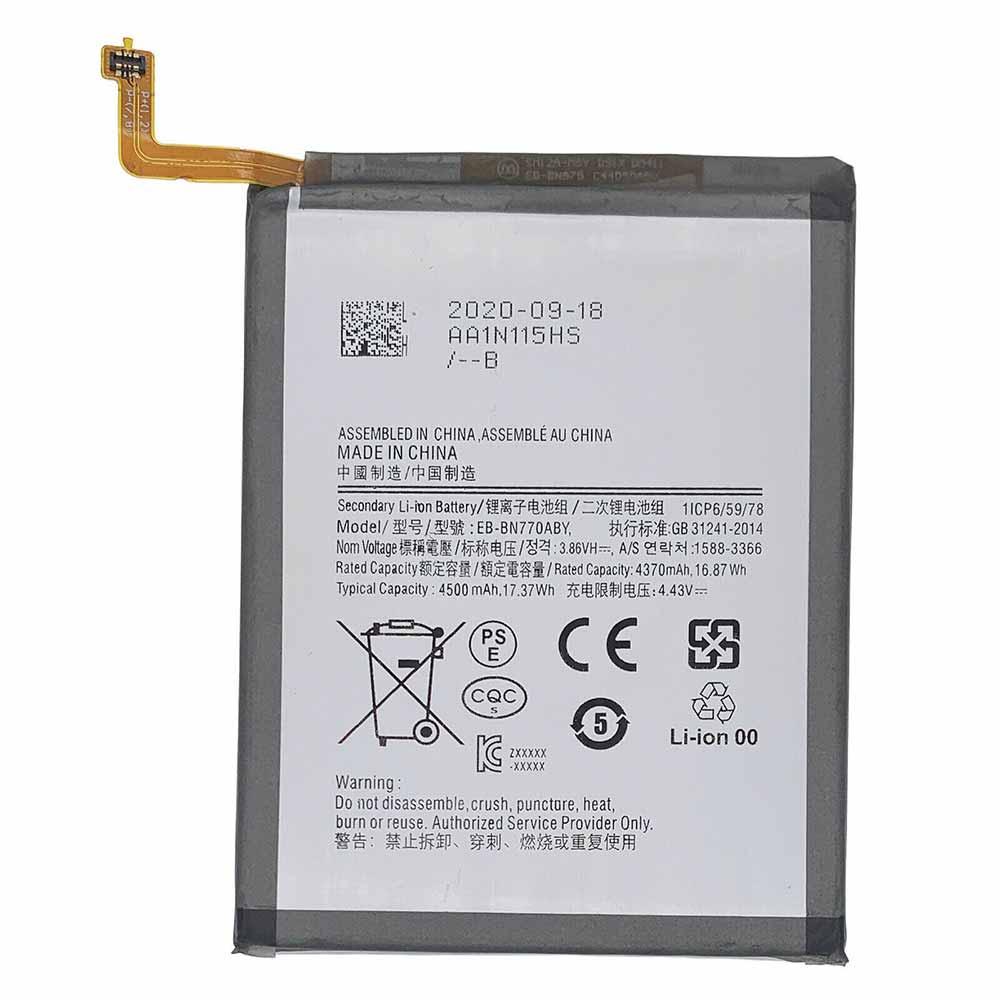 3.86V 4.43V Samsung EB-BN770ABY Akkus