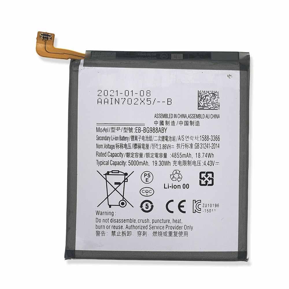 3.86V 4.43V Samsung EB-BG988ABY Akkus