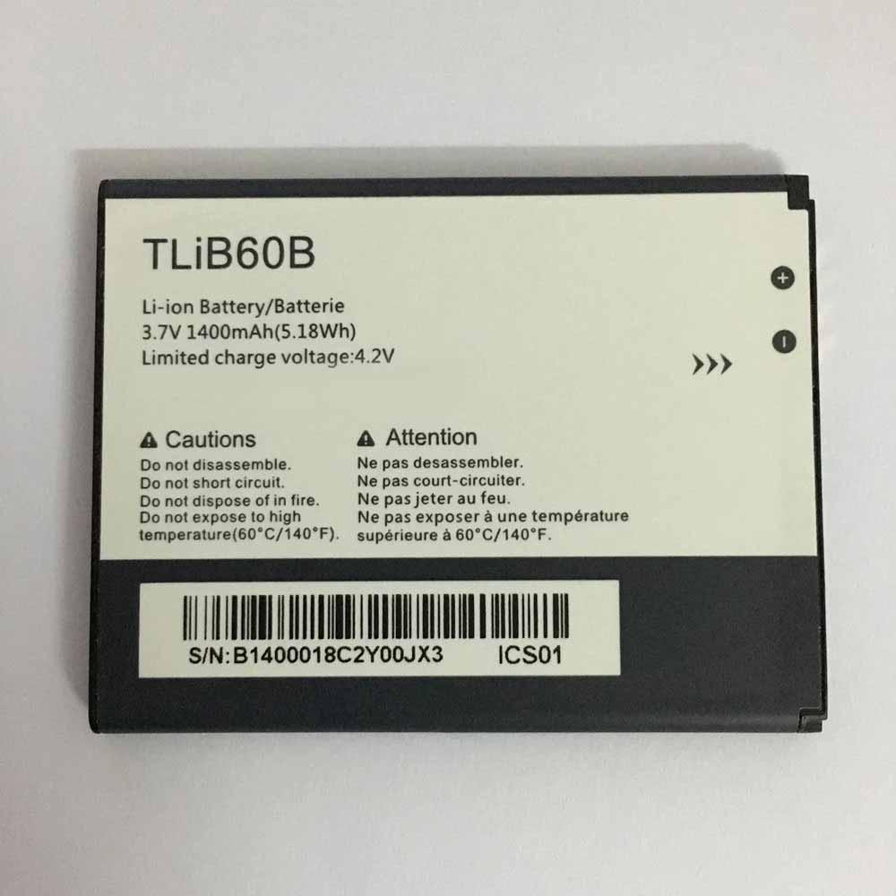 3.7V/4.2V Alcatel TLiB60B Akkus