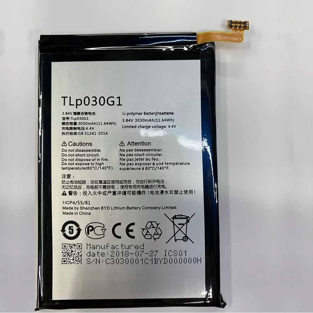 TLP030G1 akkus