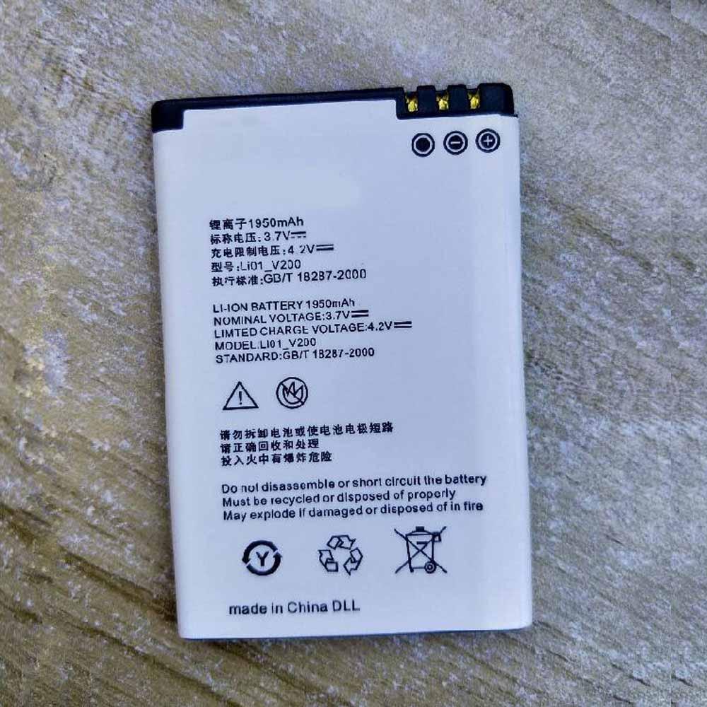 3.7V/4.2V Sony Li01_V200 Akku