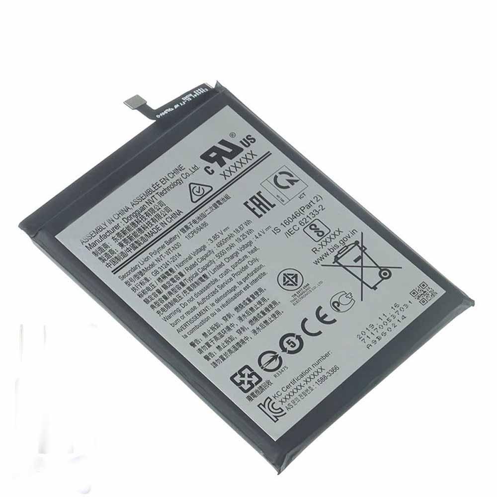 3.85V/4.4V Samsung NVT-WT-N30 Akkus